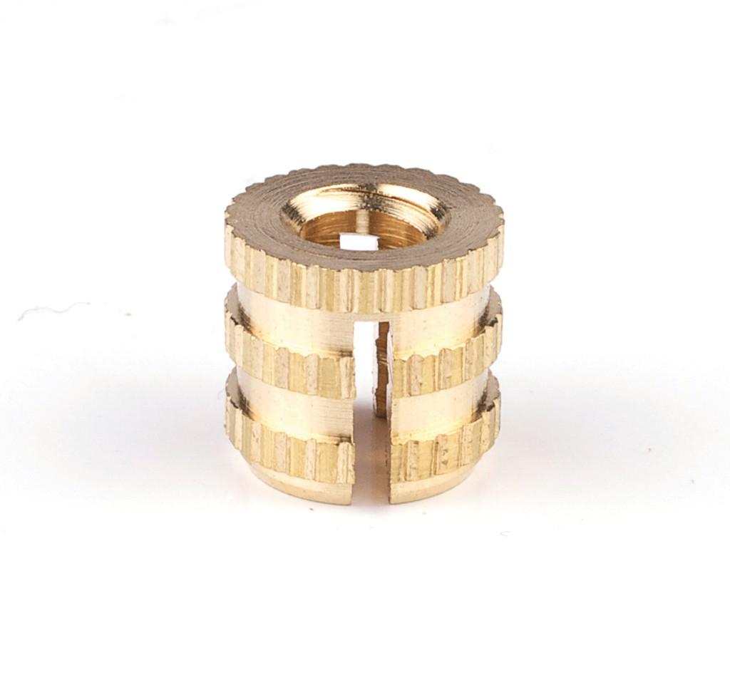 Snoli drive in brass inserts,  Ø8mm