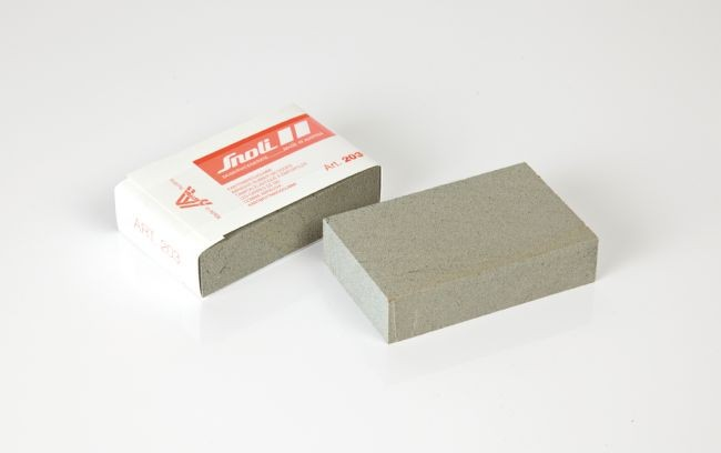 Rubber edge polishing block - big