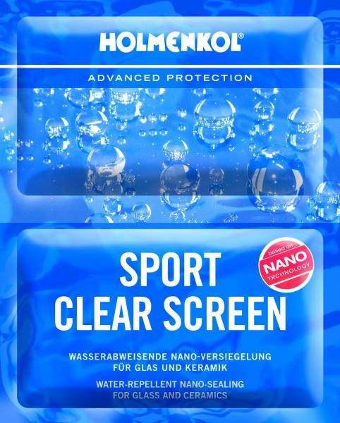 Sport clear screen