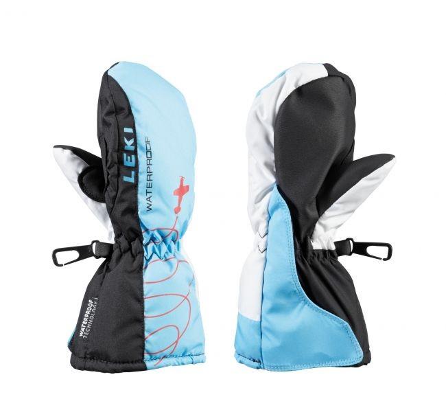 Leki Jr. gloves Aerobatic Mitten - blue