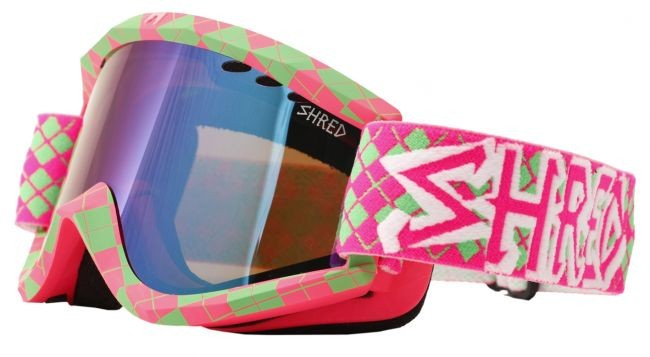 Shred Soaza goggles: Nastify Redux (pink/green)