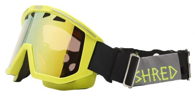 Shred goggles OMNIBOT ECO - road yellow