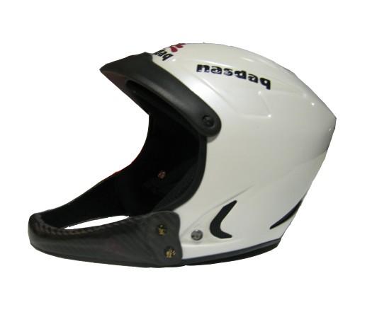 Nasdaq carbon - kevlar SL helmet - white, L-XL