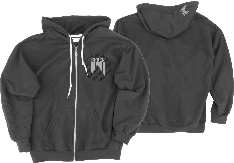 Shred DASHED eu zip unisex hoodie