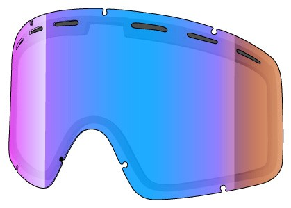 DOUBLE spare lenses for Shred MONOCLE
