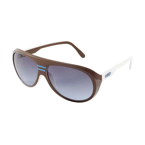 Sunglasses Shred GUSTAF - white/brown
