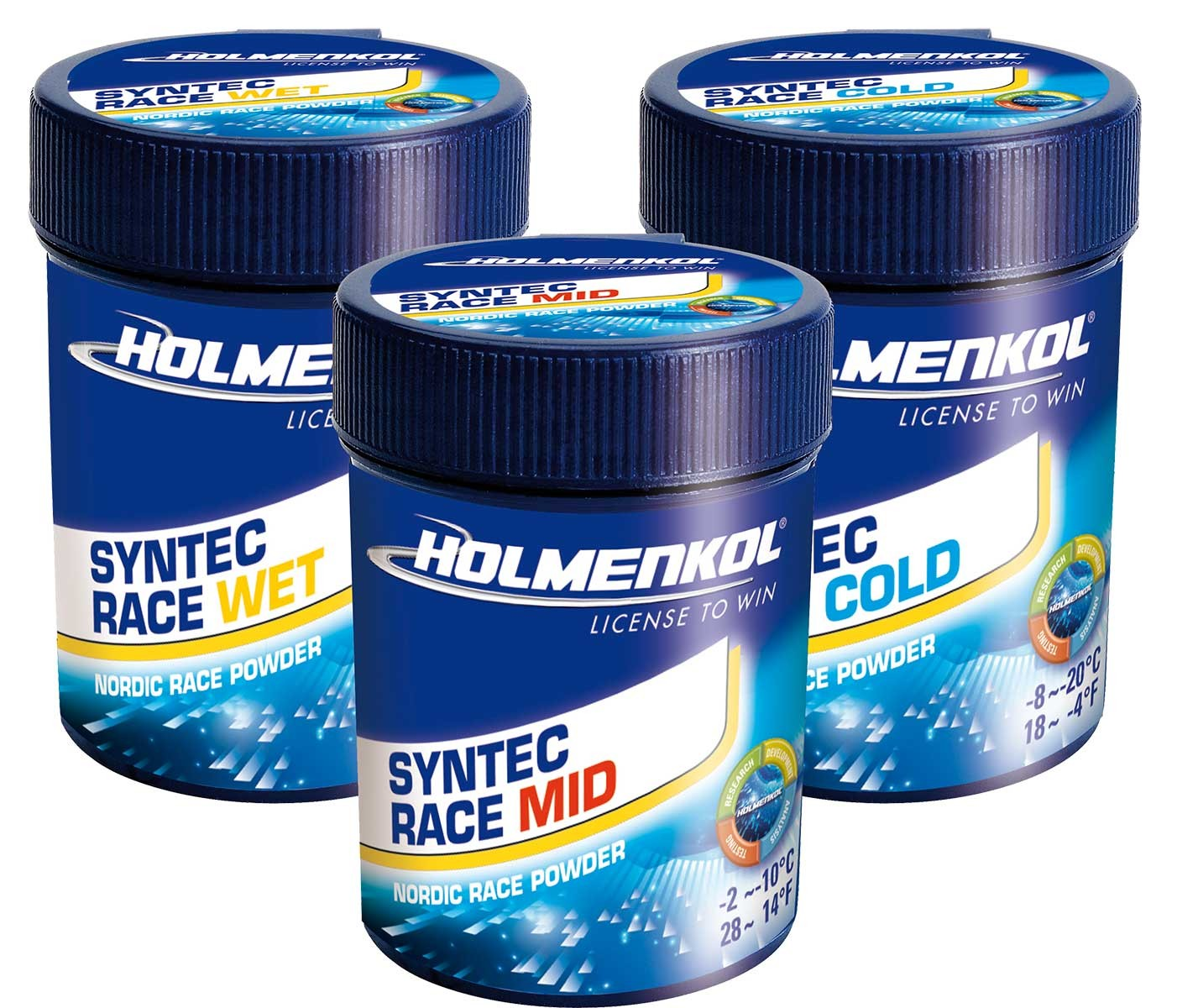 Holmenkol SYNTEC RACE Nordic fluor powder