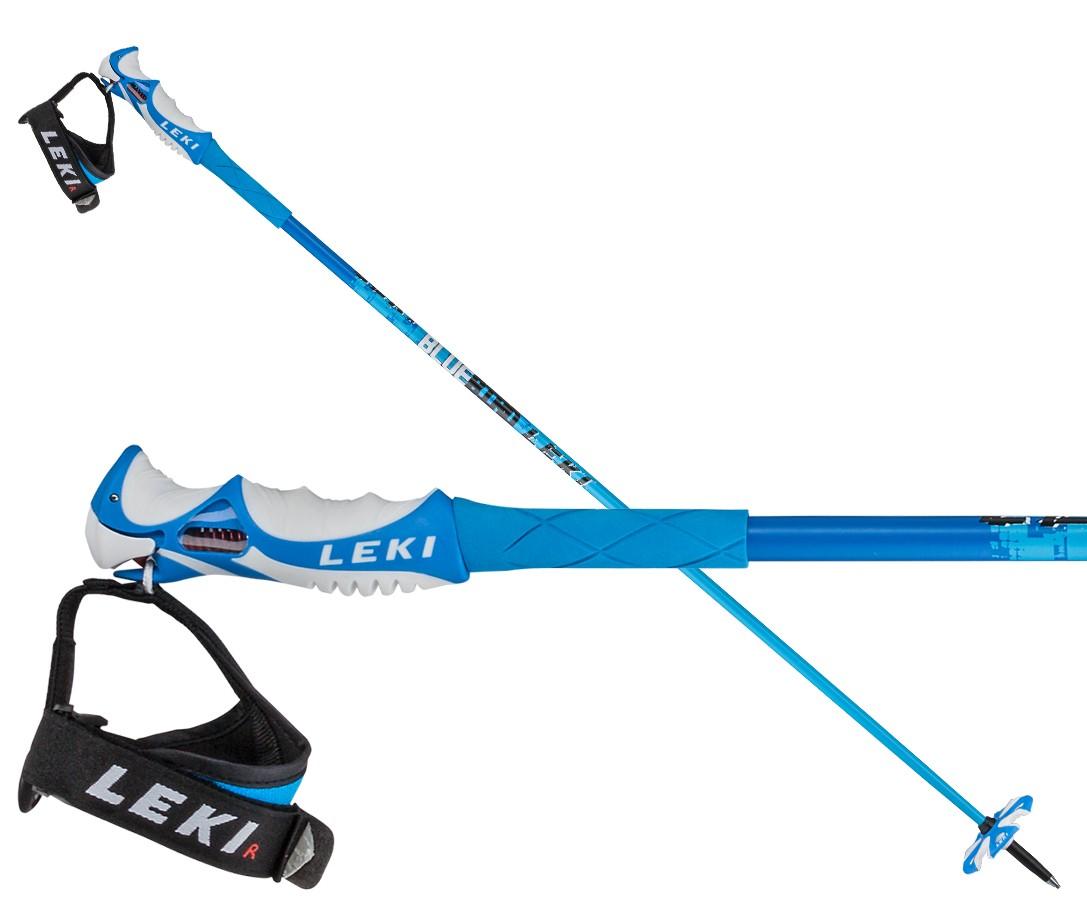 Leki Blue Bird Carbon S ski poles, 2016
