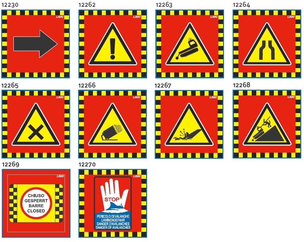 znaki za smucisce mrezasti