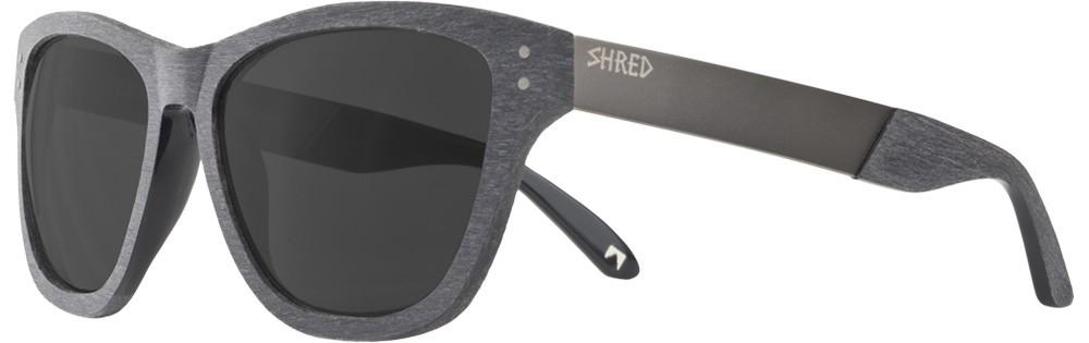 Shred Axe Brushalloy Charcoal Sunglasses