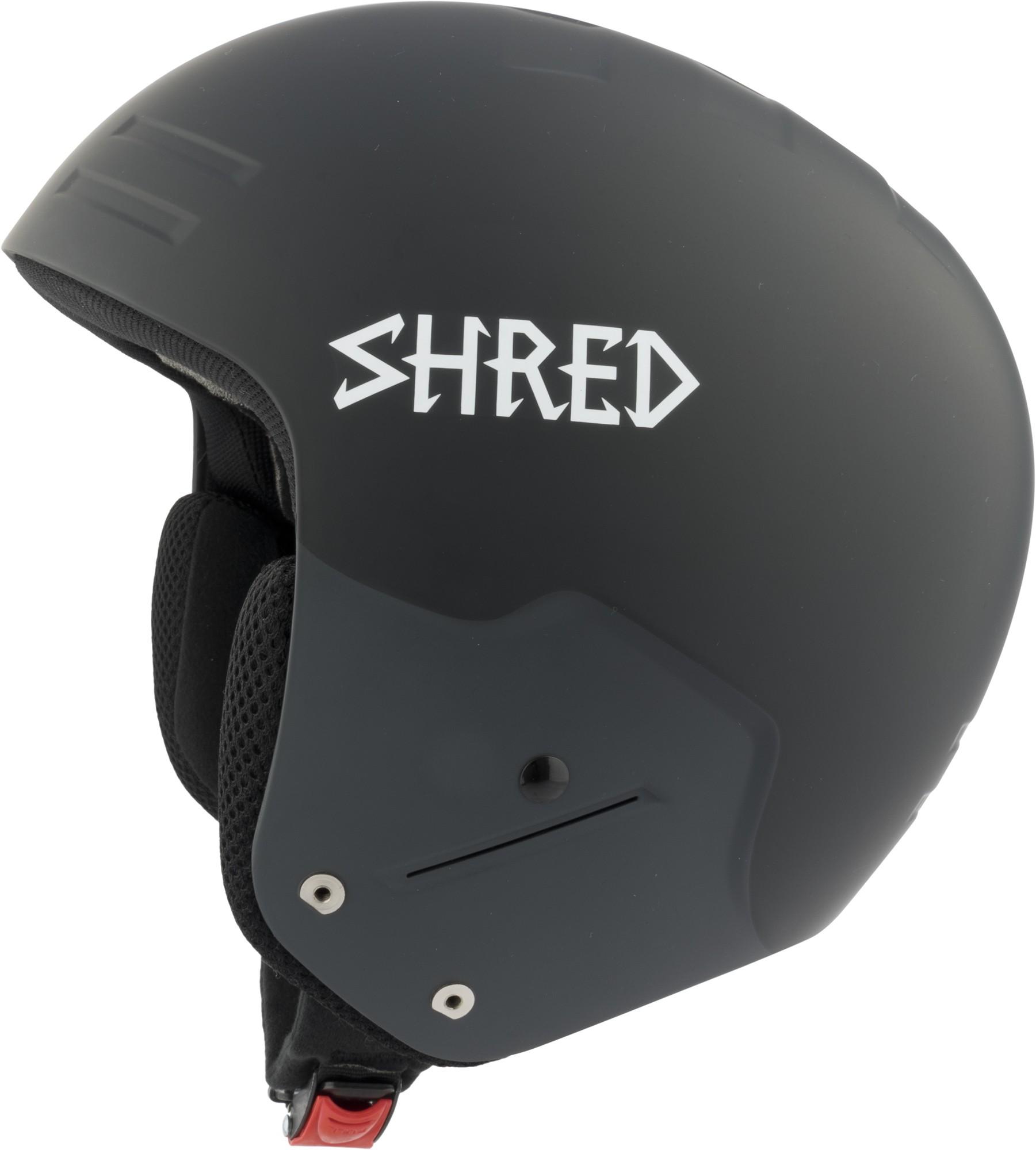 Shred FIS BASHER NoShock Blackout ski helmet, 2017