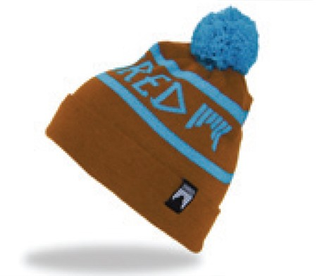 shred beanie woodside brown