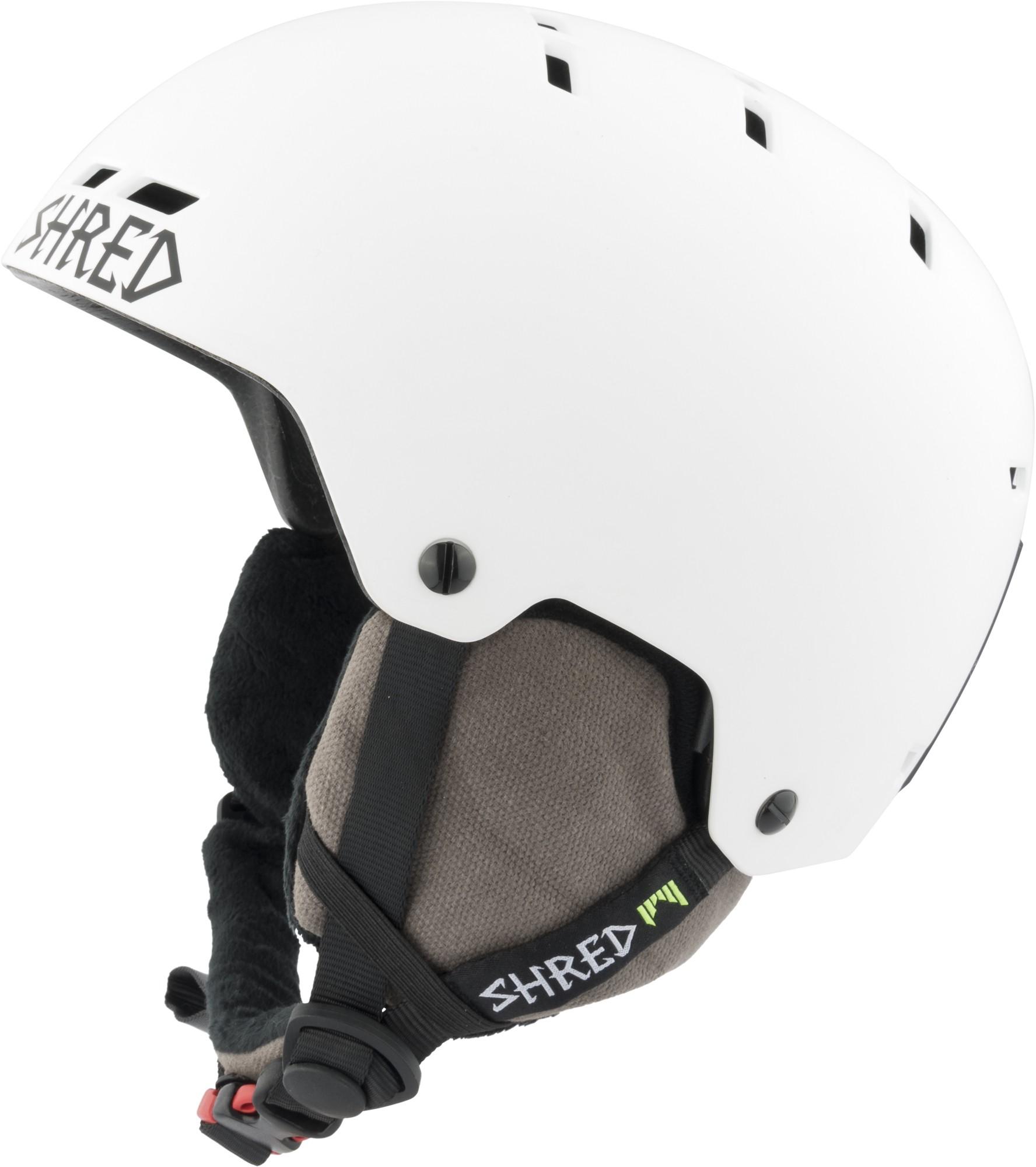 Shred BUMPER NoShock warm BLEACH ski helmet, 2017