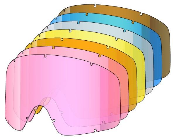 YONI / TASTIC racer pack 7 single lenses