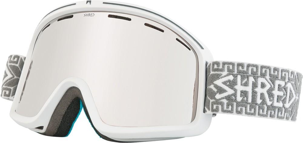 Shred Monocle NORFOLK white goggles, 2017