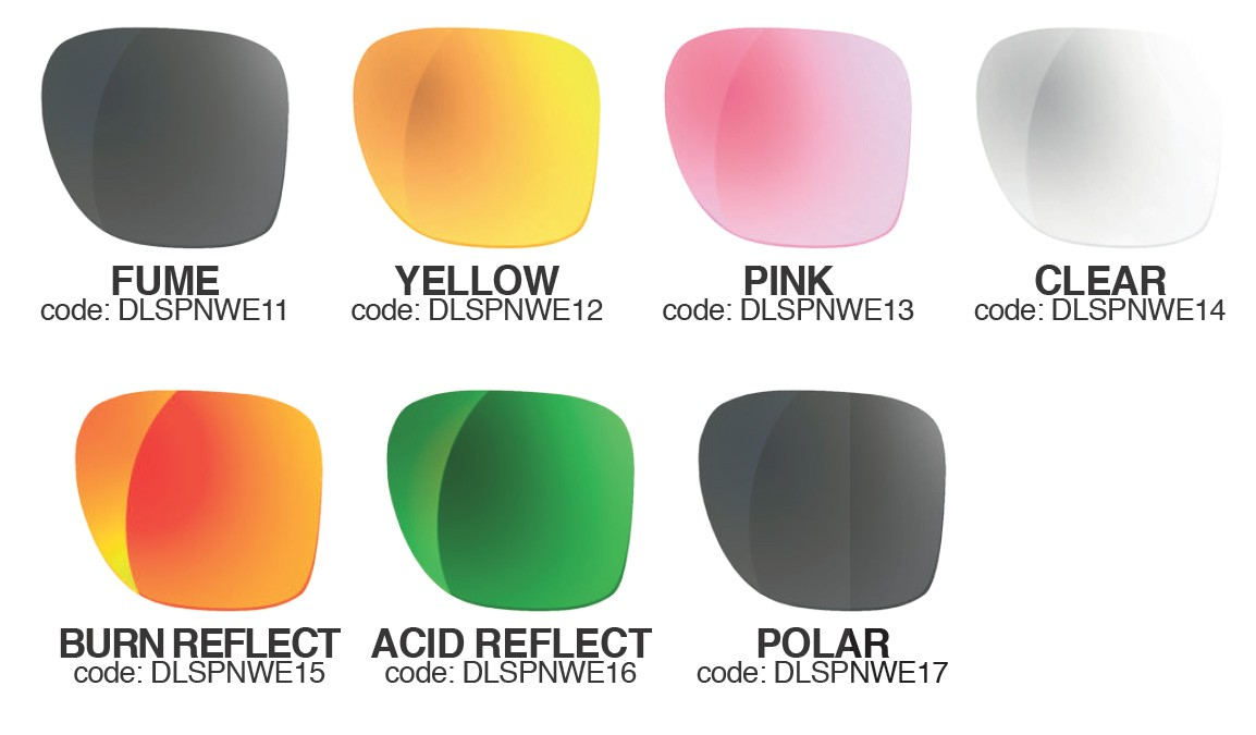Spare lenses for Shred Provocator NoWeight sunglasses