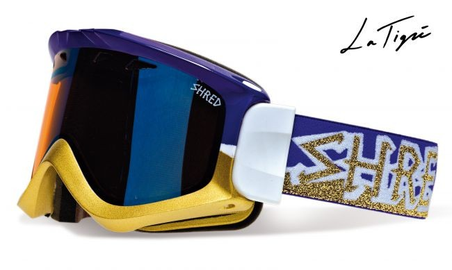 Shred smučarska očala yoni latigre ivanized