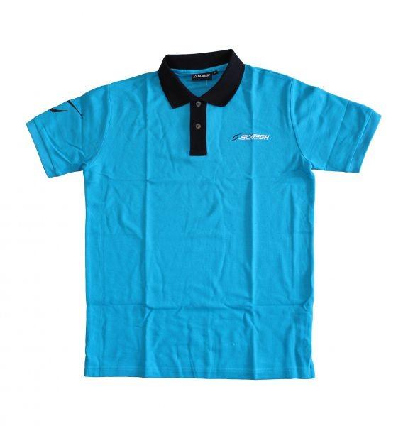 Slytech polo t shirt kratka majica piquet modra