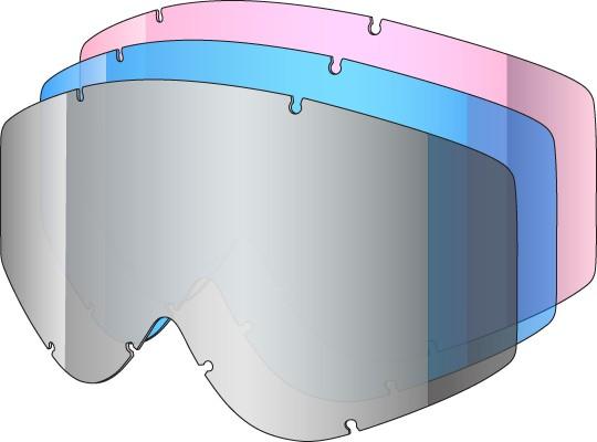 SOAZA 3 KIT - 3 single lenses