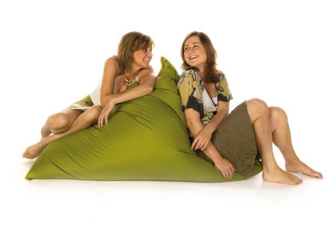 vreča za sedenje sit on it tryangle xl olivno zelena