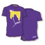 Shred majica tshirt heli ash purple