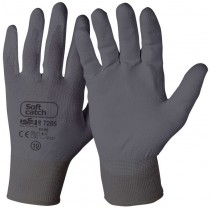 Soft catch protection gloves