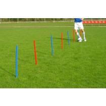Liski slalom flexible poles - gummy (outdoor)