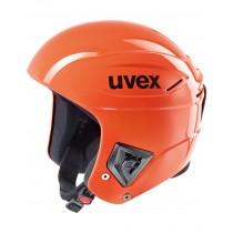 Uvex race + FIS ski helmet orange, 2017