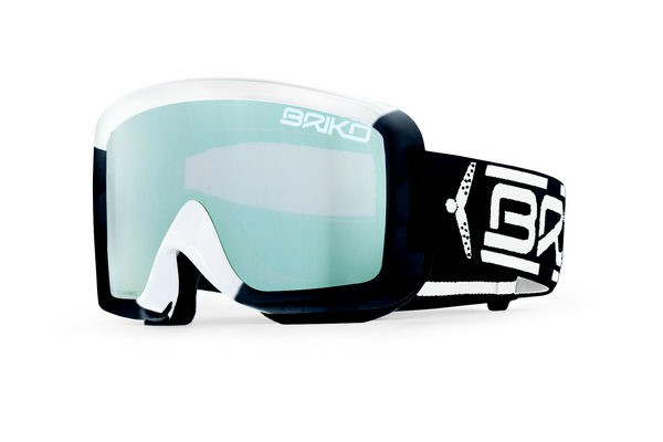 Briko goggles Super Race - Black/White