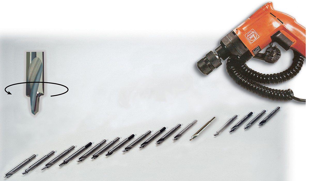 Snoli binding drills with micro point