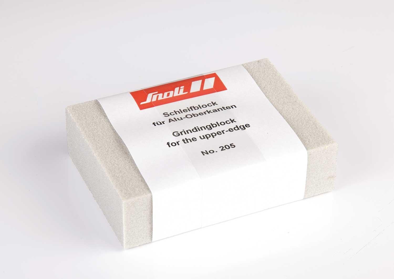 Snoli grinding block (rubber) for the upper edge
