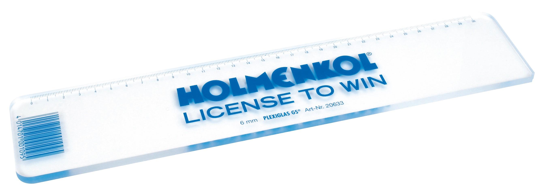Holmenkol snowboard wax scraper - 6mm