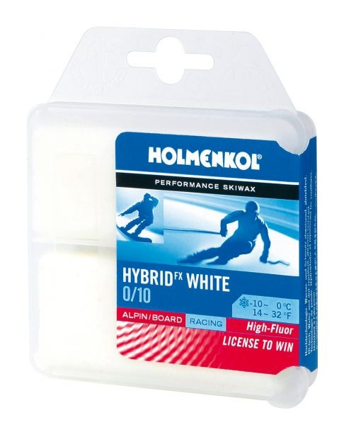 Holmenkol Hybrid fx white 0/10