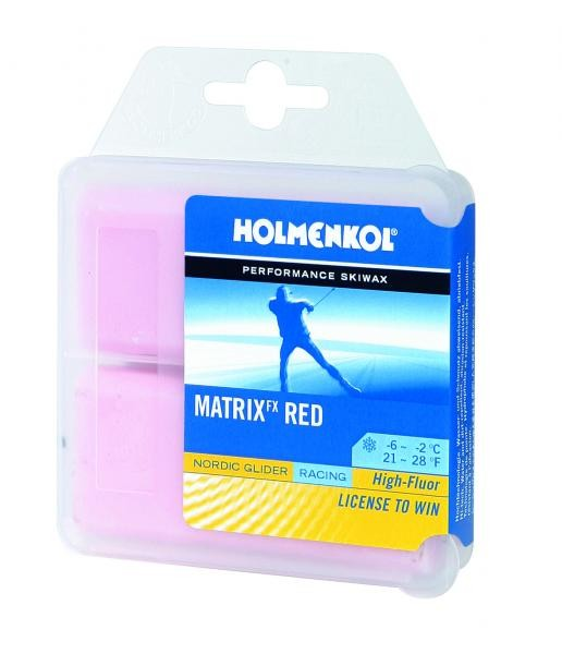 Holmenkol Matrix fx RED 2/6
