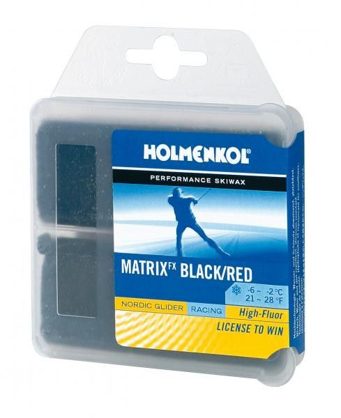 Holmenkol Matrix FX glide BK/RED