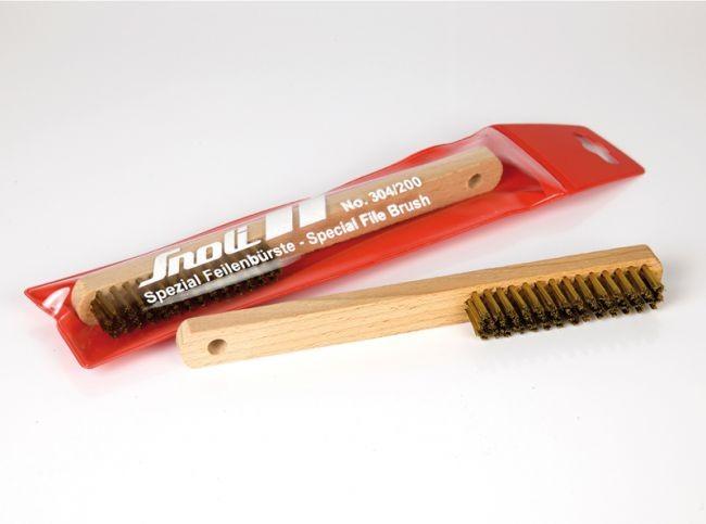 Brass file brush - long