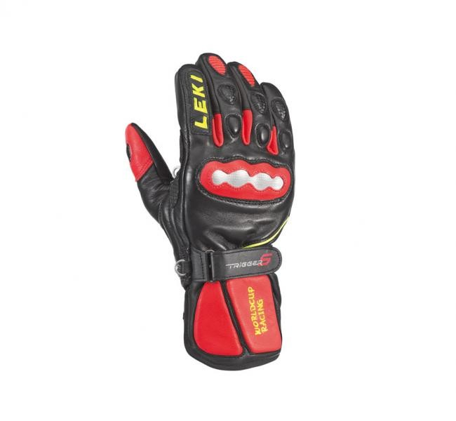 Leki gloves WC Racing GS -TRS black/red (6.5)