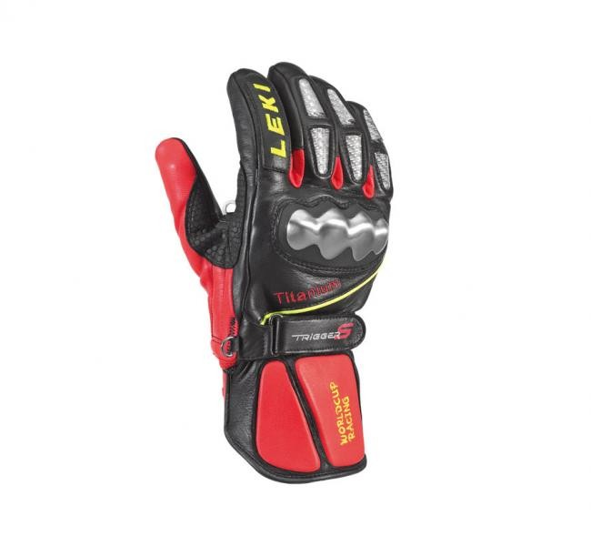 Leki WC Racing - TITANIUM - black/red (6.5)