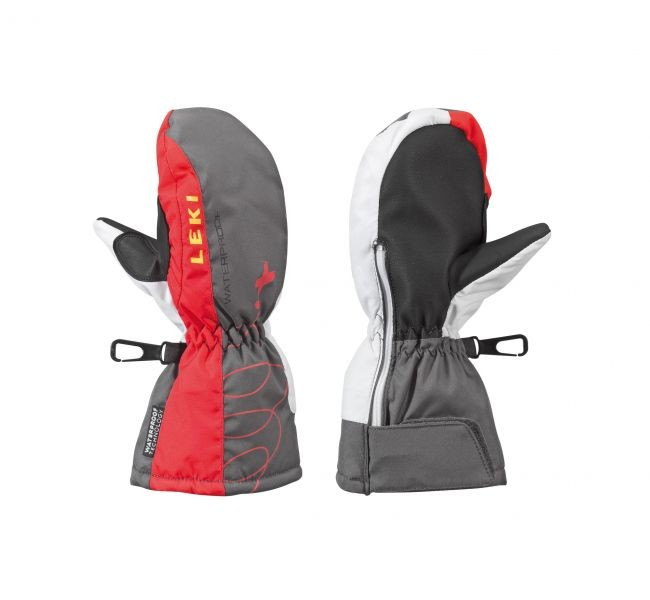 Leki Jr. gloves Aerobatic Mitten - red (2)