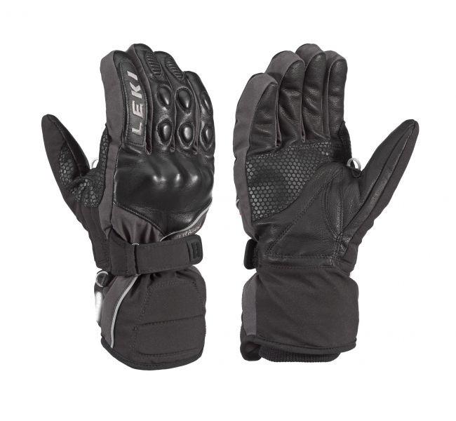 Leki gloves Equipe - black/gray (7)
