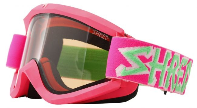 Shred Soaza goggles: Boba (pink/green)