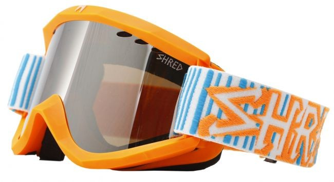Shred Soaza goggles: Boba Code (orange/blue)