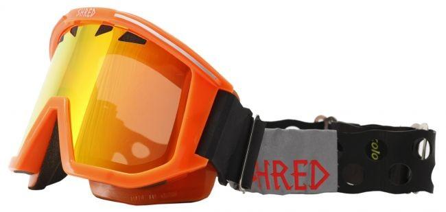 Shred goggles OMNIBOT ECO - road orange