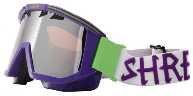 Shred goggles OMNIBOT- Purple/Green