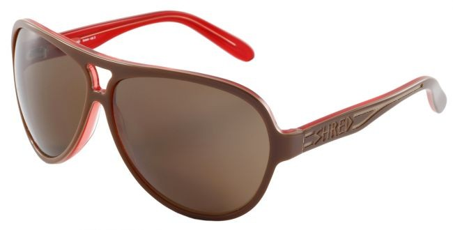 Sunglasses Shred - Sir Edmund - brown/red