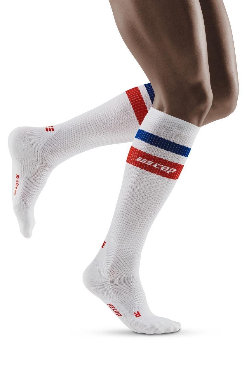 Knee High Socks Lineman American Flag Womens Work Athletic Over Thigh High Long Stockings