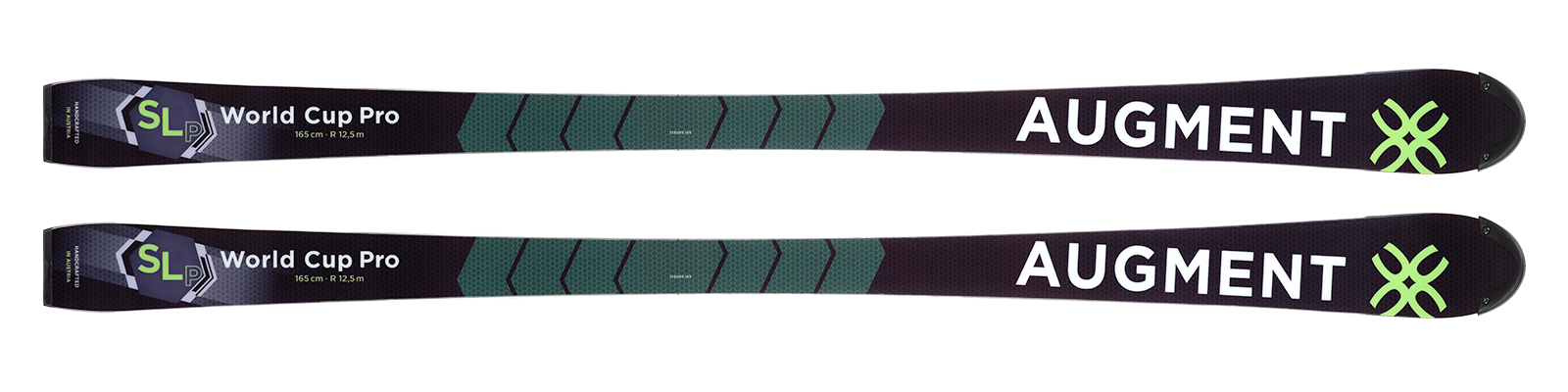 Augment SL WC FIS skis w/plate and binding
