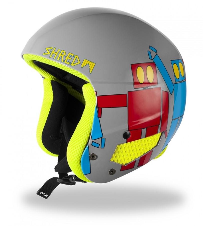 Kids' helmet Shred BRAIN BUCKET - Robot Boogie