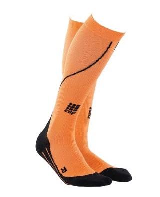 cep kompresijske nogavice za tek oranzne
