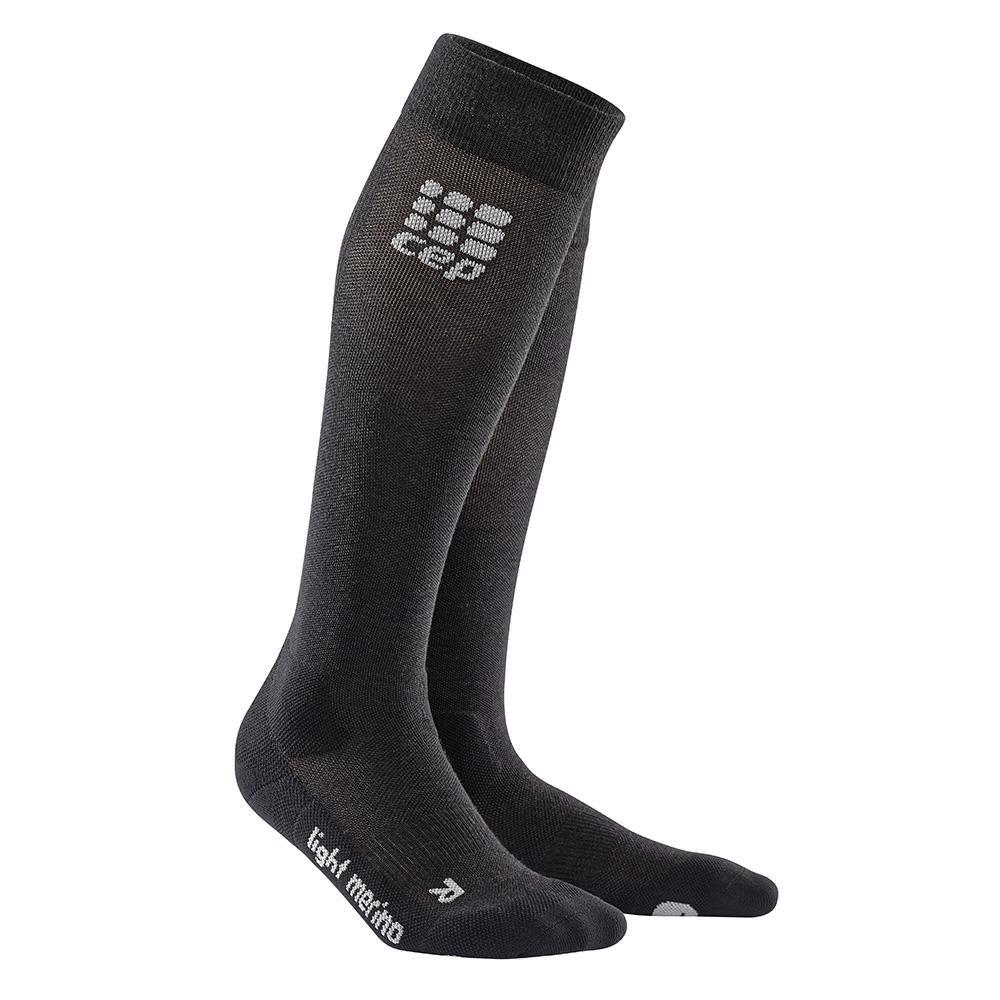 HIKING MERINO MID CUT SOCKS for men CEP Compression hiking socks